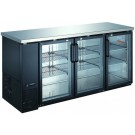 "Omcan BB-CN-0020-GH 72.75"" Triple Glass Door Back Bar Cooler"