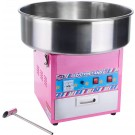 "Winco CCM-28 20.5"" Stainless Steel ShowTime Electric Cotton Candy Machine"