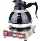 Winco ECW-1 100W Electric Coffee Warmer With Single Burner