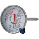 "Winco TMT-MT2 2"" Dial 5"" Probe Meat Thermometer"