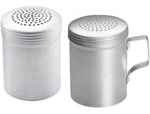 Cheese Shakers, Sugar/Spice Shakers, and Dredges