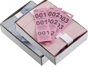 Coat Check Tickets & Tags