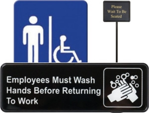 Informational and Compliance Signs