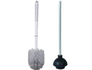 Plungers & Restroom Cleaning Brushes