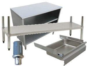 Stainless Steel Tables Parts and Accessories