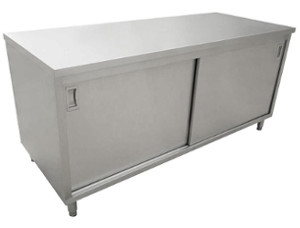 Worktables with Cabinets