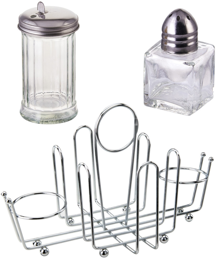 Condiment Holders, Pourers & Shakers