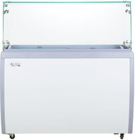 Glass Door Ice Cream Freezer Merchandisers