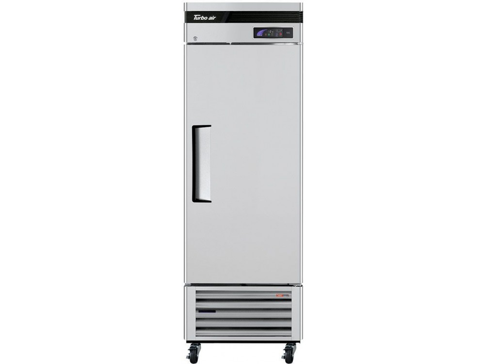 "Turbo Air TSF-23SD-N Super Deluxe Series 27"" Solid Door Reach-in Freezer"