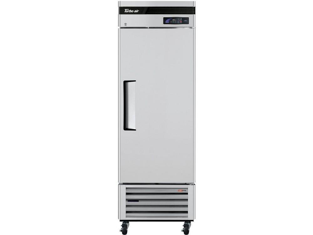 "Turbo Air TSR-23SD-N6 Super Deluxe Series 27"" Solid Door Reach-in Refrigerator"