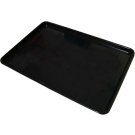 """Omcan 10109 18"""" x 26"""" Black Meat Tray"""