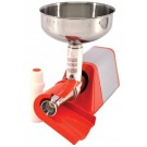 Omcan TS-IT-0134 0.33 HP Red Light-Duty Electric Tomato Squeezer