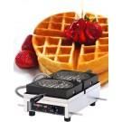 Krampouz WECDCAAS 120V Commercial Round Waffle Maker
