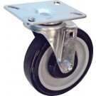 Omcan 13117 13067 Chrome Meshed Top Stock Cart Rotating Caster