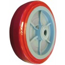 Omcan 13121 39247 and 23861 Utility Carts Orange Wheel