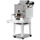 Omcan PM-IT-0040 1.5 HP Dual Tank Floor Model Heavy-Duty Pasta Machine