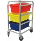 Omcan 13493 Aluminum 3-tier Lug Rack
