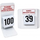 Omcan 13664 Tags 1-100 Customer Number System