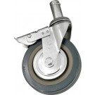"Omcan 14461 5"" Industrial Caster with Brakes"