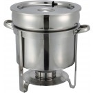 Winco 211 11 Quart Stainless Steel Soup Warmer