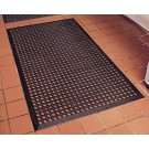 Omcan 23584 Black Anti-Fatigue Mat