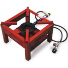 Omcan CE-CN-0060 Red Outdoor Propane Burner