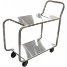 Omcan 23731 Solid Top Welded Stainless Steel Stock Cart
