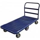Omcan 24035 Grilled Deck Heavy-Duty Blue Platform Cart