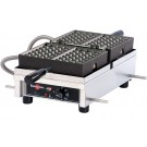 Krampouz WECDAAAS 120V 3 X 5 Bruxelles Commercial Waffle Maker