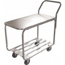 Omcan 31277 Solid Top All Stainless Steel Stock Cart