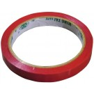 Omcan 31349 16 rolls 9 mm Red Poly Bag Sealer Tape