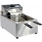 Omcan CE-CN-0006-D 220 V Single Table Top Electric Fryer
