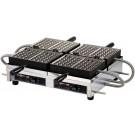 Krampouz WECCBBAT 240V 4 X 6 Commercial Double Waffle Maker