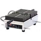 Krampouz WECDBAAS 120V 4 X 6 Bruxelles Commercial Waffle Maker