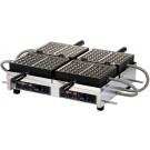 Krampouz WECCHBAT 208-240V 4 X 7 Liege Commercial Waffle Maker
