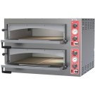 "Omcan PE-IT-0038-D Max Series 39"" Double Chamber Pizza Oven"