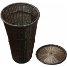 Omcan 41770 Round Brown Tapered Basket