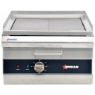 """Omcan CE-CN-0350-G 17"""" Electric Charbroiler / Griddle"""