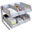 Omcan 43642 Plastic Condiment Organizer