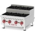 Omcan CE-CN-0424-S 120,000 BTU Countertop Step-Up Hot Plate