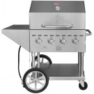 Omcan CE-CN-0060-S 4 Burners Outdoor Propane BBQ Grill