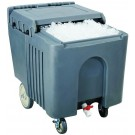 Omcan 80585 125 lb capacity Insulated Ice Caddy with Sliding Lid