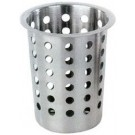 Omcan 80814 Stainless Steel Perforated Flatware Cylinder