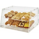 Winco ADC-2 2-Tray Acrylic Display Case