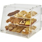 Winco ADC-3 3-Tray Acrylic Display Case