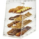 Winco ADC-4 4-Tray Acrylic Display Case