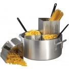 Winco APS-20 20 Quart Pasta Cooker Set