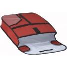 """Winco BGPZ-18 Insulated 18"""" x 18"""" Pizza Delivery Bag"""