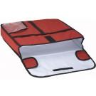 """Winco BGPZ-20 Insulated 20"""" x 20"""" Pizza Delivery Bag"""