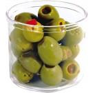 Winco CJ-7P 7oz Plastic Condiment Jar